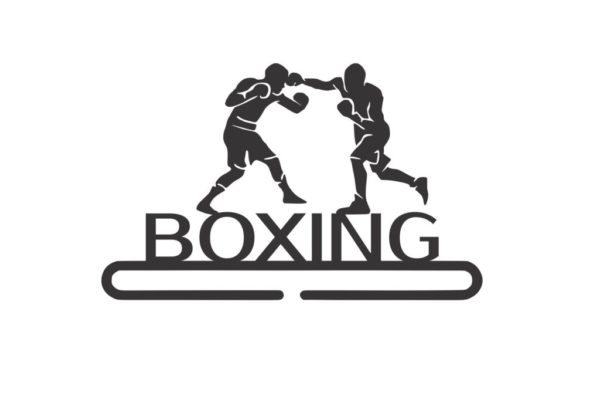 спортивная медальница бокс