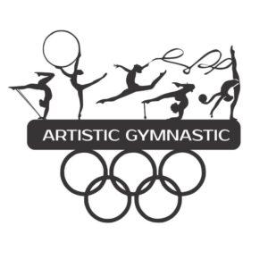 спортивная медальница художественная гимнастика