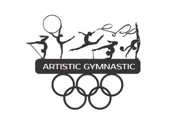 Спортивная медальница художественная гимнастика в наличии ...
