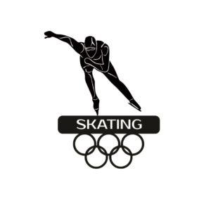 Спортивная медальница конькобежный спорт