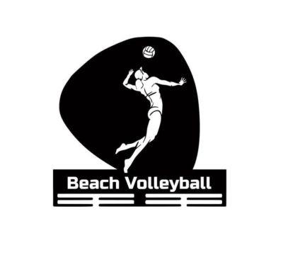 медальница пляжный волейбол