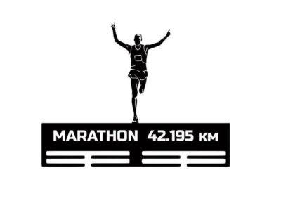 медальница марафон