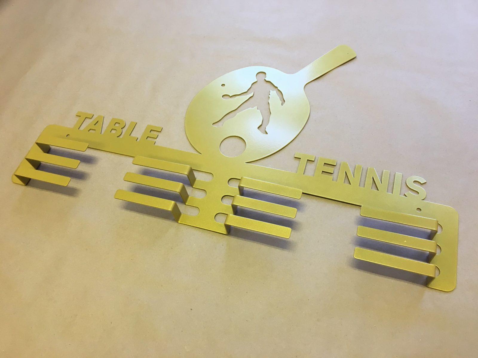 """Медальница """"Настольный теннис"""""""