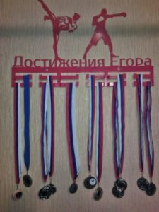 """Отзыв: Медальница """"Достижение Егора"""""""