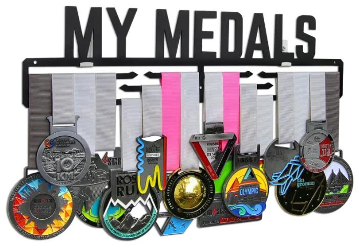 Спортивные медальницы из дерева и металла